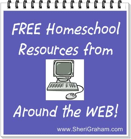 Awesome FREE Homeschool Resources from Around the Web