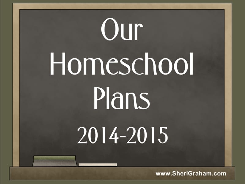 Our Homeschool Plans 2014-2015