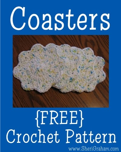 Crochet Coasters {FREE pattern}