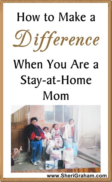 How to Make a Difference When You Are a Stay-at-Home Mom {Part 2 of 7 – Hand-Written Cards}