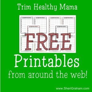 Trim Healthy Mama Free Printables