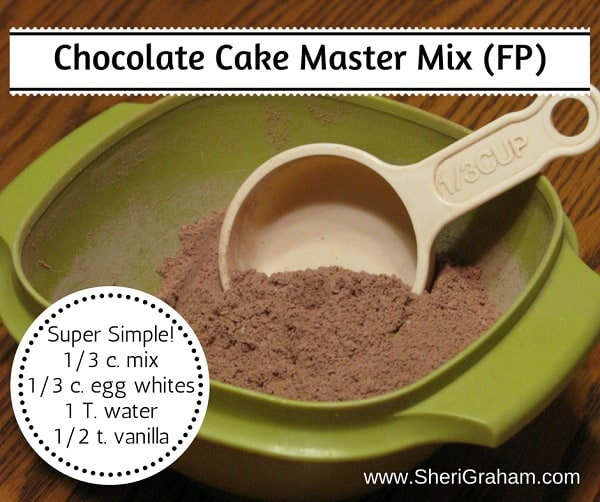 Chocolate Cake Master Mix - (Trim Healthy Mama-FP)