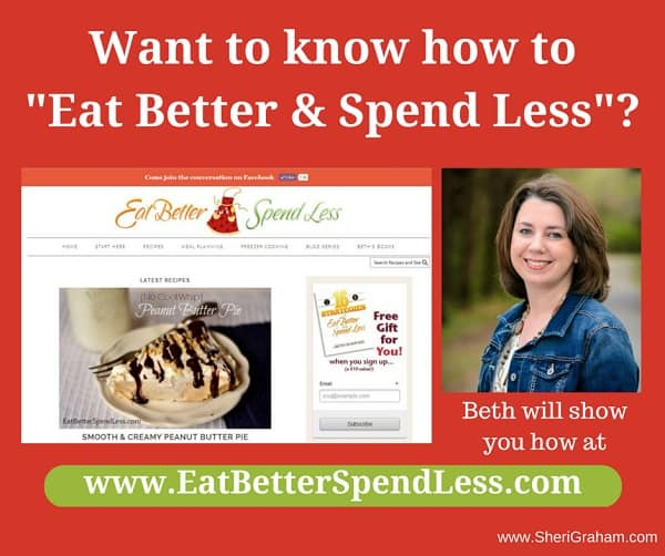 Eat Better Spend Less with Beth Cranford!