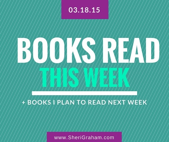 Books Read This Week - 03-18