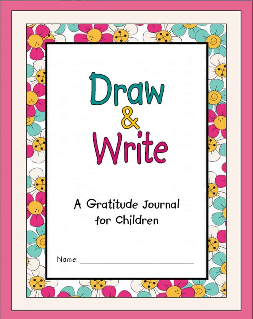 Draw & Write - A Gratitude Journal for Children
