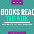 Books Read This Week - 04-08