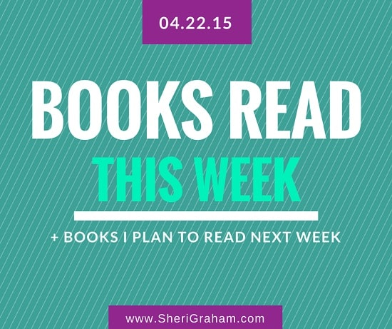 3 Books I Finished This Week + Books I Plan to Read This Coming Week