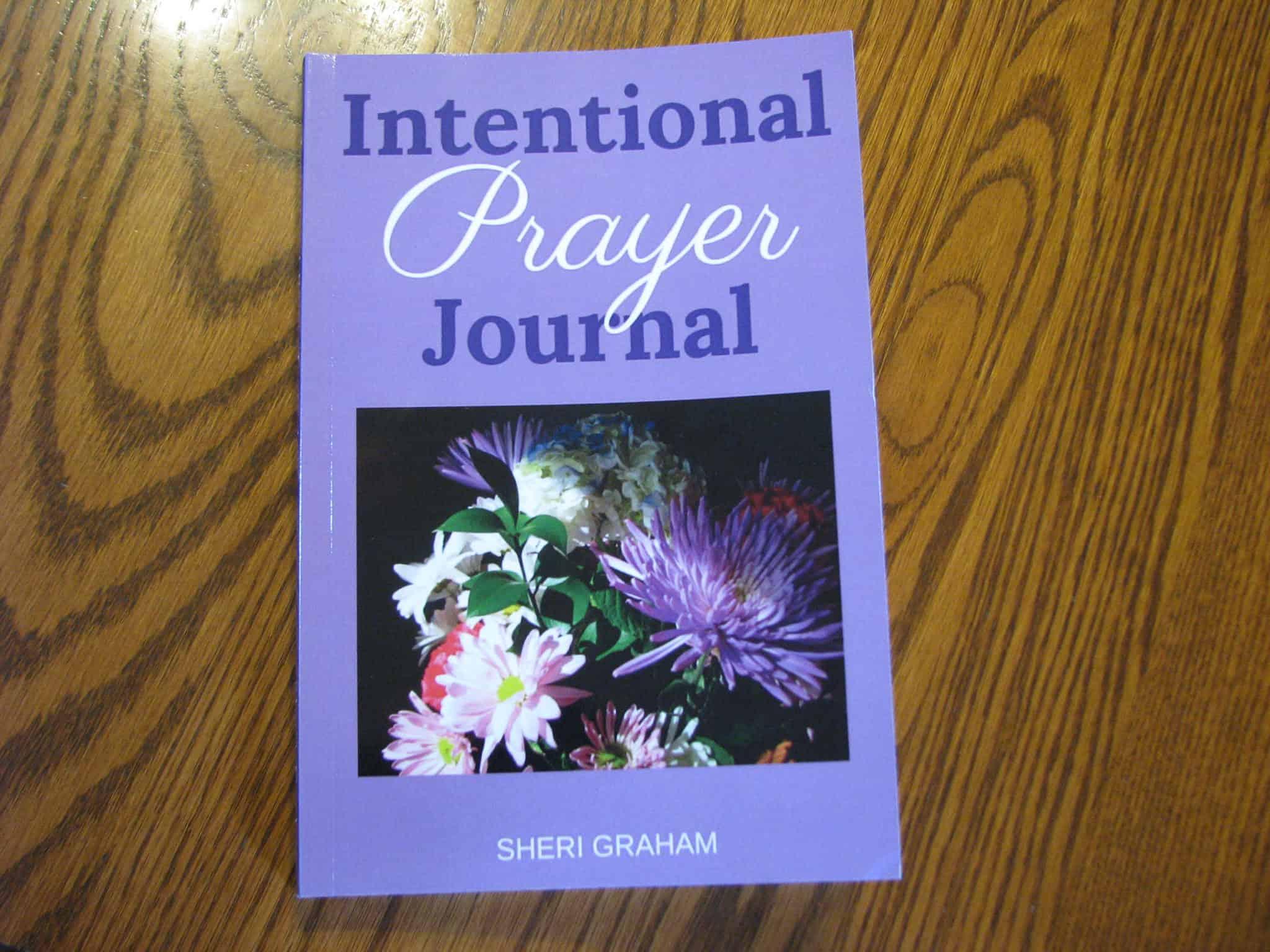 Brand new book: Intentional Prayer Journal