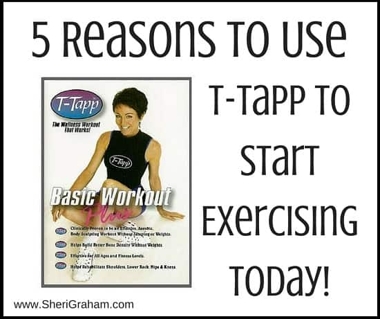 5 Reasons to Use T-Tapp to Start Exercising Today
