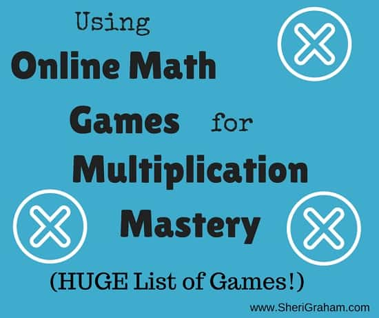 Using Online Math Games for Multiplication Mastery (a huge list of games for you)