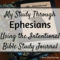 My Study Through Ephesians