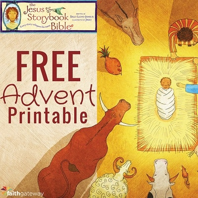 Jesus Storybook Bible Advent Printable