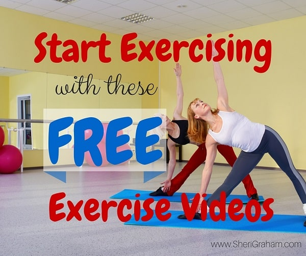 Start Exercising With These Free Exercise Videos