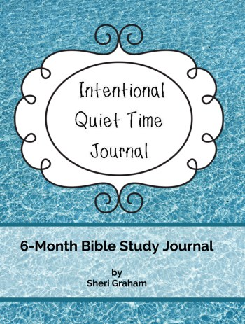 Intentional Quiet Time Journal Now Available Also As An Ebook