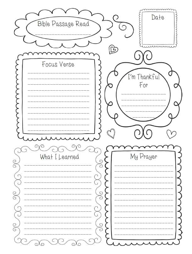 Intentional Quiet Time Journal-sample