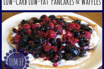Low-Carb Low-Fat Pancakes & Waffles (THM:FP)