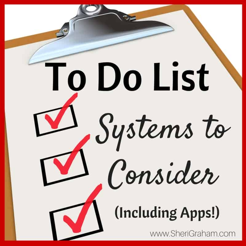 To Do List Systems to Consider