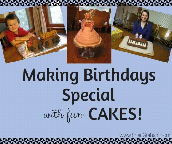 Making Birthdays Special with fun cakes!