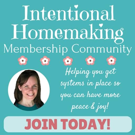 Intentional Homemaking Membership Community