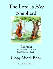 The Lord Is My Shepherd - Copywork Book