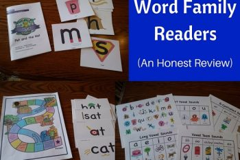 Word Family Readers (an honest review)