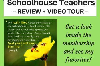 My Schoolhouse Teachers Review + Video Tour!