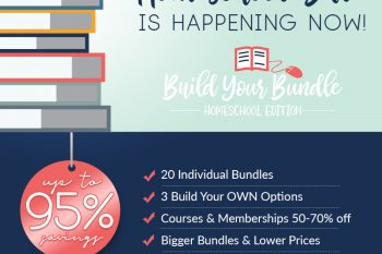 The biggest homeschool sale of the year is here!