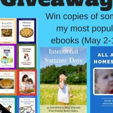 Giveaway! Win copies of some of my most popular ebooks!