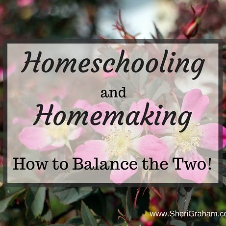 Homeschooling andHomemaking - How to Balance the Two