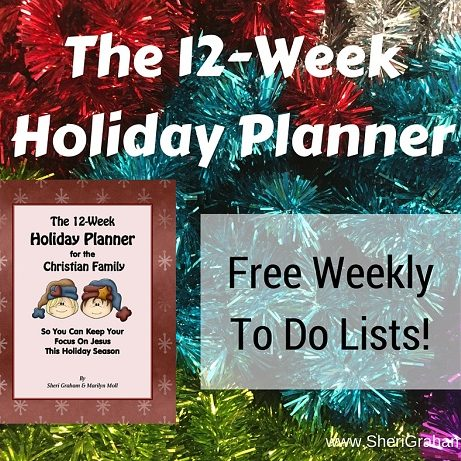 The 12-Week Holiday Planner - Free To Do Lists